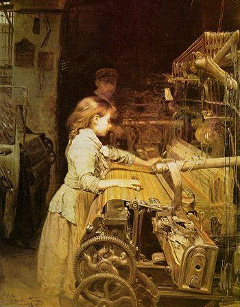 La niña obrera, versión original, 1882